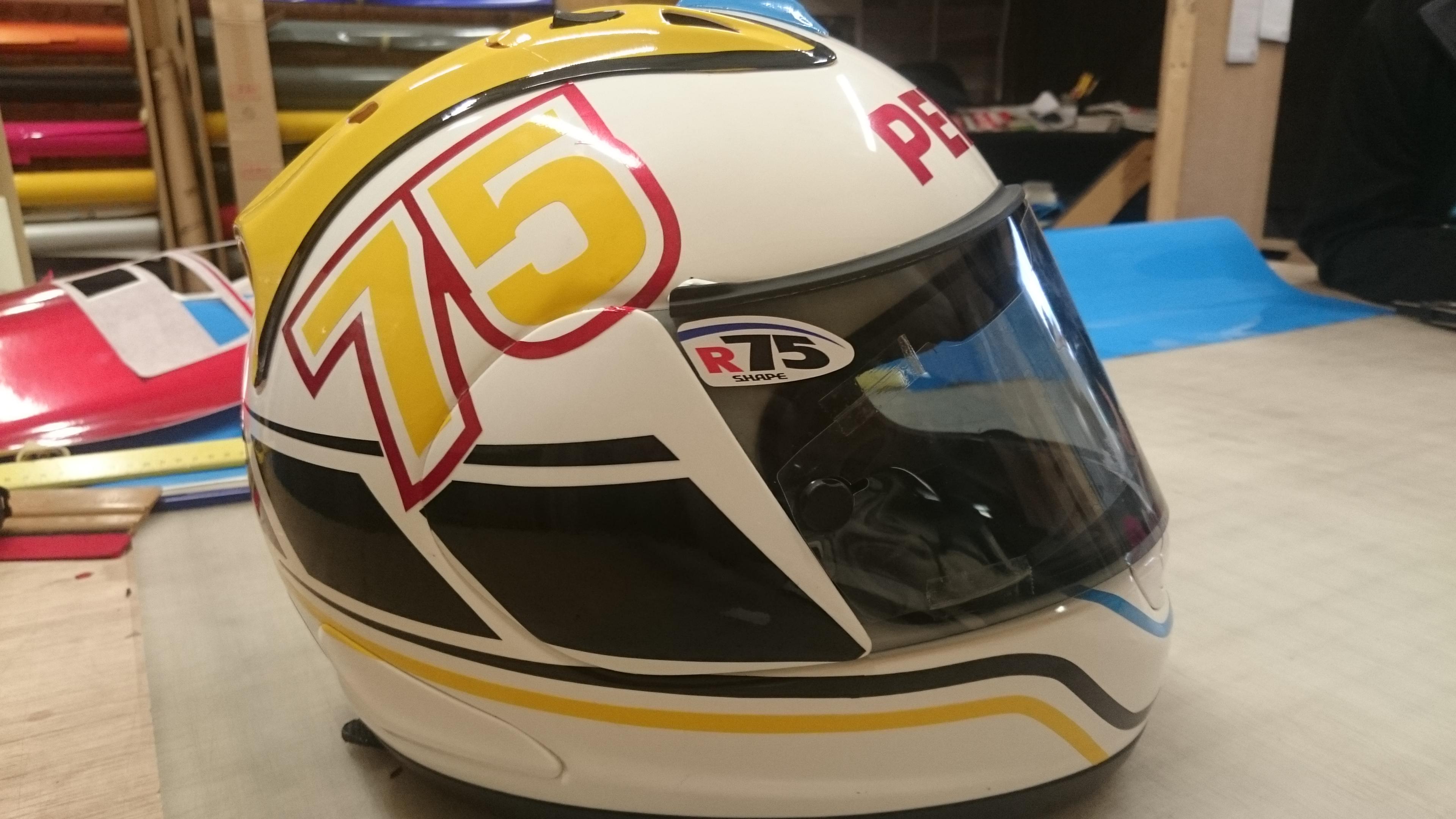 helmet wrap, arai, bsb,